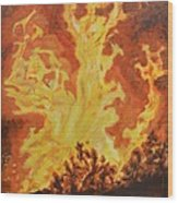 Spirits Of Sati Wood Print