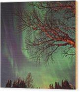 Spirits Of The Night    Wood Print