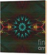 Spiritual Beginning Wood Print by Hanza Turgul