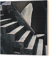 Spiritual Chiaroscuro Wood Print