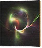 Spiritual Energy Wood Print