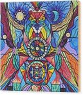 Spiritual Guide Wood Print