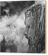Spiritual Leader  Wood Print
