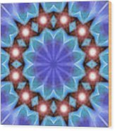 Spiritual Pulsar K1 Wood Print by Derek Gedney