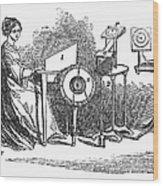 Spiritualism, 1855 Wood Print