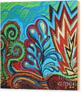 Spiro Gyra Wood Print