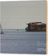 Spitbank Fort Martello Tower Wood Print by Terri Waters