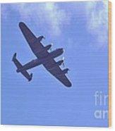 Spitfire  Lancaster Bomber Wood Print