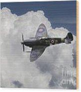 Spitfire Mk Ixb  Wood Print
