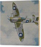 Spitfire Mk.viii Wood Print