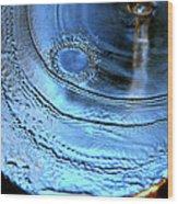 Splash Wood Print