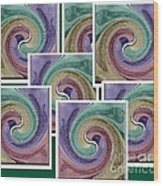 Splash Of Colors Wood Print