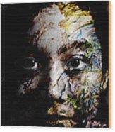 Splash Of Humanity Wood Print