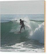 Splash Zone Wood Print
