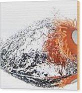 Splashie Wood Print