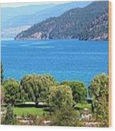Splendid Kalamalka Lake Wood Print