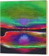 Splendid Lake Wood Print