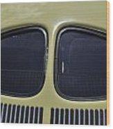Split Rear Window Wood Print
