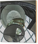 Split Rock Lighthouse Lens Wood Print