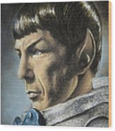 Spock - The Pain Of Loss Wood Print