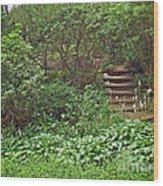 Spohr Gardens - Quissett - Falmouth - Ma - Cape Cod Wood Print