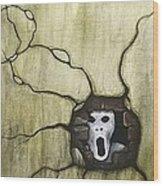 Spooky Wood Print