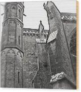 Classic Goth Wood Print by France  Art