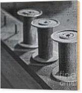 Spools Wood Print
