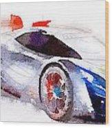 Sport Car 3 Wood Print