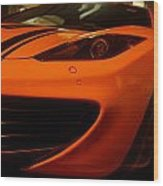 Sports Car Wood Print