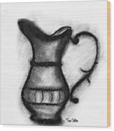 Spout And Handle Wood Print