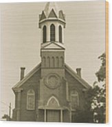 Sprague Church 2 Wood Print