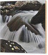 Sprague Creek Wood Print