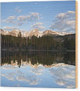 Sprague Lake 2 Wood Print