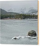 Sprague Lake In Rocky Mountain National Park Wood Print