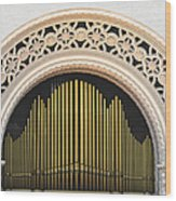 Spreckels Organ Balboa Park San Diego Wood Print