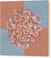 Spreeze Coral Wood Print