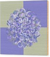 Spreeze Lilac Wood Print