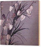Sprigs Wood Print