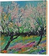 Spring 452121 Wood Print