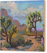 Spring At Joshua Wood Print