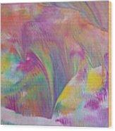 Spring Aurora Wood Print