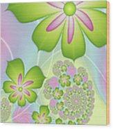 Spring Awakening Wood Print