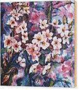 Spring Beauty Wood Print by Zaira Dzhaubaeva