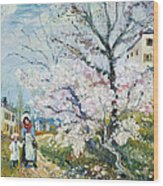 Spring Blossom Wood Print