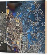 Spring Blossoms In The City - New York Wood Print