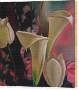 Spring Bouquet II Wood Print