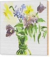 Spring Bouquet IIi Wood Print