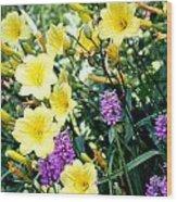 Spring Colors Wood Print