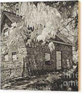 Spring Creek Mill Wood Print